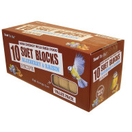 Suet To Go Blueberry & Raisin Wild Bird Suet Blocks 300g x 10