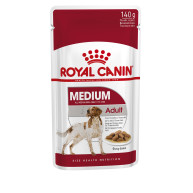 ROYAL CANIN Medium Adult Wet Dog Food Pouches in Gravy