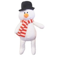 Happy Pet Singing Snowman Christmas Dog Toy