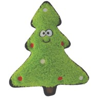 Happy Pet Christmas Crinkles Tree Dog Toy