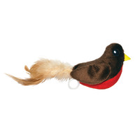 Happy Pet Rocking Robin Christmas Cat Toy