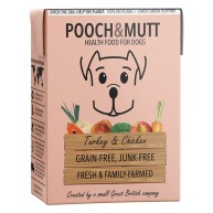Pooch & Mutt Turkey & Chicken Wet Dog Food Cartons
