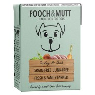 Pooch & Mutt Turkey and Duck Adult Wet Dog Food Cartons