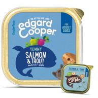 EdgardCooper Salmon & Trout Grain Free Wet Adult Dog Food