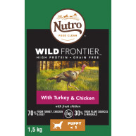 Nutro Wild Frontier Turkey & Chicken Dry Puppy Food