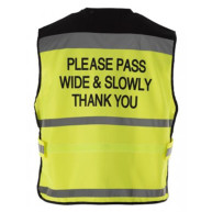 Equisafety Please Pass Wide & Slowly Waistcoat