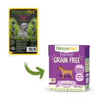 Naturediet Feel Good Grain-Free Puppy Wet Dog Food Cartons