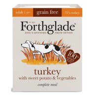 Forthglade Complete Grain Free Turkey Sweet Potato & Veg Adult Dog Food