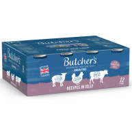 Butchers Meaty Recipes in Jelly Wet Dog Food