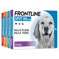 Frontline Flea Spot On Dog Small Dog 2-10kg x 1