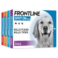 Frontline Flea Spot On Dog Small Dog 2-10kg x 1