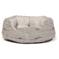 Danish Design Bobble Pewter Deluxe Slumber Dog Bed