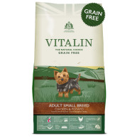 Vitalin Natural Grain Free Chicken & Potato Small Breed Adult Dog Food