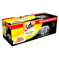 Sheba Pouch Select Slices Poultry Collection In Gravy Adult Cat Food