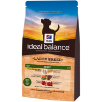 Hills Ideal Balance Canine Adult Large Breed Chicken & Rice 12kg