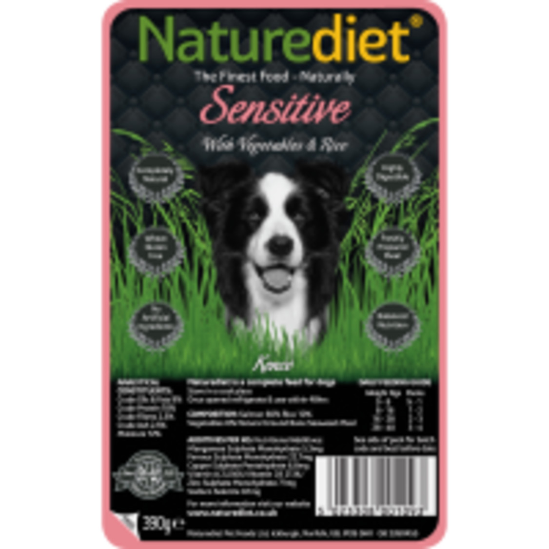 Naturediet Salmon Vegetables & Rice Sensitive