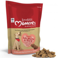 Lovejoys Moments Salmon & Rice Dog Treats  225g