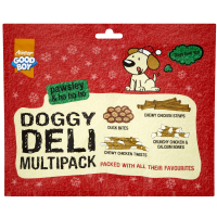 Good Boy Pawsley Christmas Doggy Deli Multipack Dog Treats 166g