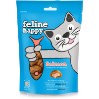Mark & Chappell Feline Happy Bites Cat Treats 60g Salmon