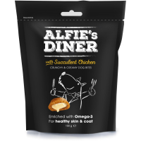 Mark & Chappell Alfies Diner Dog Treats 100g Chicken