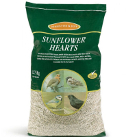 Johnston & Jeff Sunflower Hearts Bird Food 12.75kg