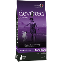 Devoted Duck with Trout Adult Dog Food 2kg