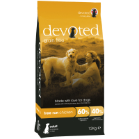 Devoted Free Run Chicken Adult Dog Food 12kg