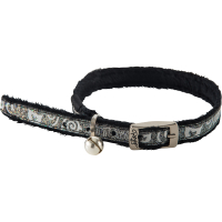 Rogz SparkleCat Black Cat Collar Black
