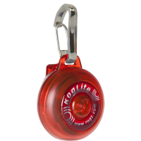 Rogz Roglite Safety Light Red
