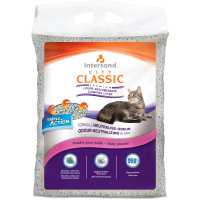 Intersand City Classic Baby Powder Clumping Cat Litter Baby Powder 7kg