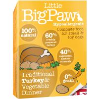 Little Big Paw Traditional Turkey & Veg Dinner Dog Food 150g x 7