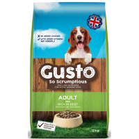 Gusto Complete Adult Dog Food 12kg