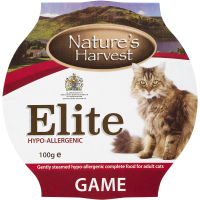 Natures Harvest Elite Game Cat Food 100g x 10