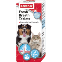 Beaphar Fresh Breath Tablets for Dogs and Cats