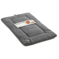 Sharples Pet Snug n Cuddly Sherpa Style Dog Mattress Medium Grey