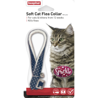 Beaphar Flea Sparkle Cat Collar Blue
