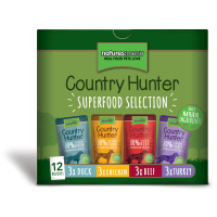 Natures Menu Country Hunter Superfood Selection Adult Dog Pouches 150g x 48