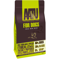 AATU 80/20 Duck Adult Dog Food 10kg x 2