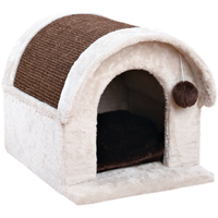Trixie Arlo Cat Scratcher House Light Grey & Brown