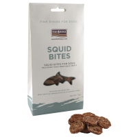 Fish4Dogs Squid Bite Dog Treats 75g