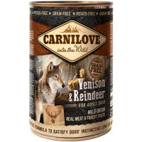 Carnilove Venison & Reindeer Adult Dog Food