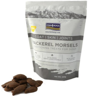 Fish4Dogs Mackerel Morsels Coat, Skin, Joints Dog Treats 225g