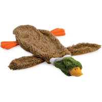 Ancol Floppet Duck with Squeaker Dog Toy