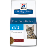 Hills Prescription Diet DD Food Sensitivities Venison & Green Pea Cat Food 1.5kg