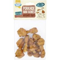 Good Boy Mini Porkhide Bones Puppy Dog Chews 7 Pieces - 85g