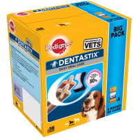 Pedigree Dentastix Medium Adult Dog Treat 56 Stick