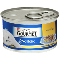 Gourmet Solitaire Chicken in Sauce Cat Food 85g x 12