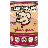 Barking Heads Golden Years Senior Dog Food 400g x 6
