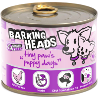 Barking Heads Tiny Paws Puppy Days Wet Puppy Food 200g x 6