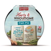 Lovejoys Hearty & Wholesome Fish Pie Dog Food  142g x 7